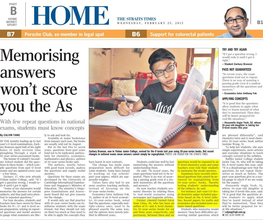 Sean-Chua-on-Strait Times Condensed Highlight