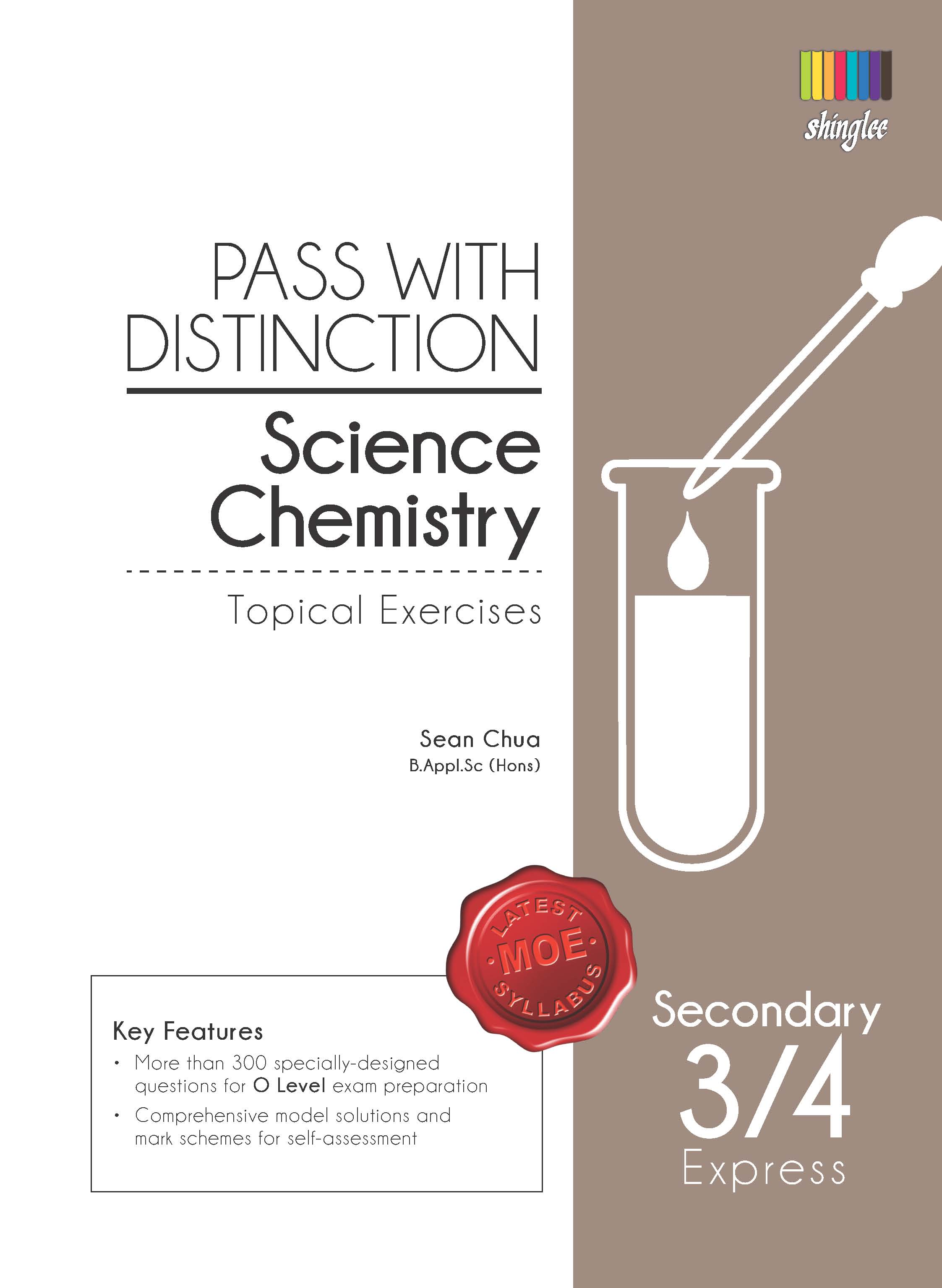 learning resources winners education centre pass distinction topical chemistry by sean chua pwd science chemistry topicalexercises cover front