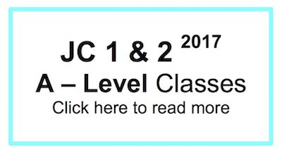 JC 1 and 2 H2 Chemistry Weekly Classes Tuition Registration