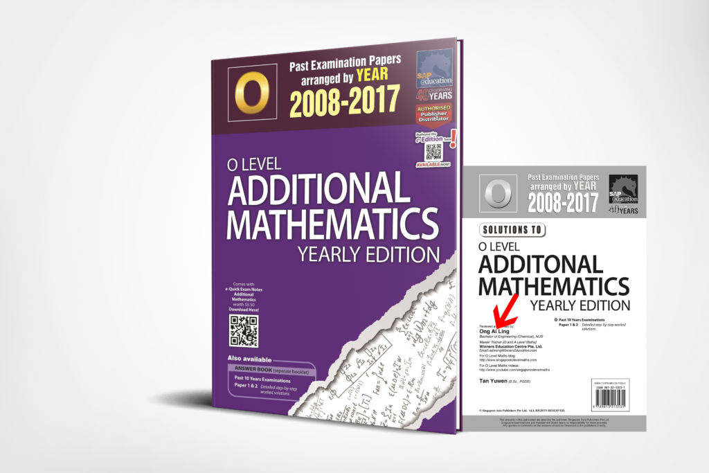 O-Level A-Maths Ten Years Series Yearly 3D Edition