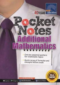 O-Level Pocket Notes Additional Mathematics by Ai Ling